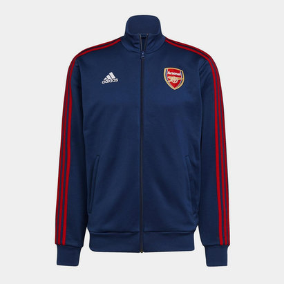 adidas Arsenal 3 Stripe Track Top 2021 2022 Mens