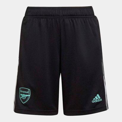 adidas Arsenal Training Shorts 2021 2022 Junior