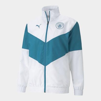 Puma Manchester City Pre Match Jacket 2021 2022 Mens
