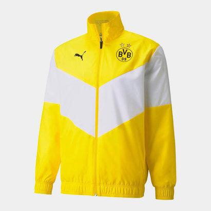 Puma Borussia Dortmund Pre Match Jacket 2021 2022