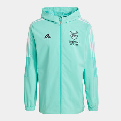 adidas Arsenal Presentation Jacket 2021 2022 Mens