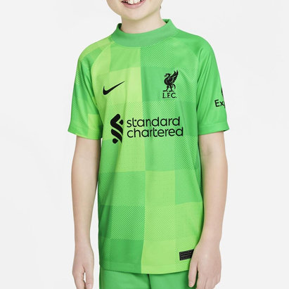 Nike Liverpool Home Goalkeeper Shirt 2020 2021 Junior