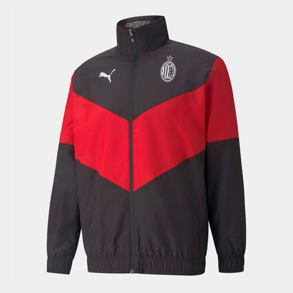 Puma AC Milan Pre Match Jacket 2021 2022 Mens