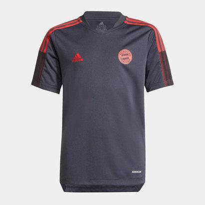 adidas Bayern Munich Training Shirt 2021 2022 Junior