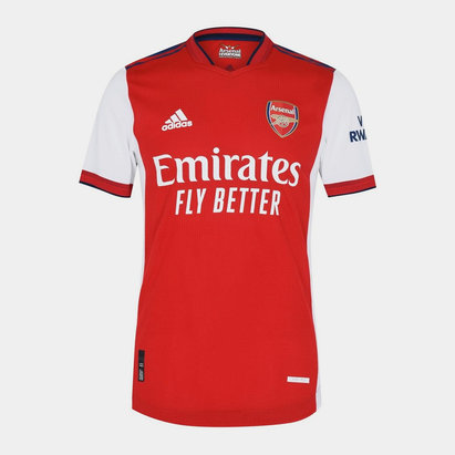 adidas Arsenal Authentic Home Shirt 2021 2022