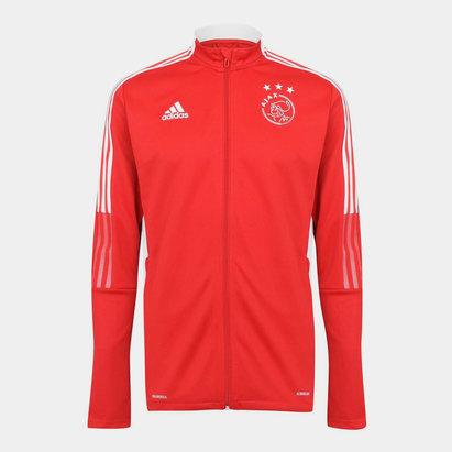 adidas Ajax Training Jacket 2021 2022 Mens
