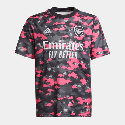 adidas Arsenal Pre Match Shirt 2021 2022 Junior