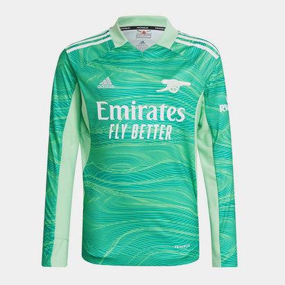 adidas Arsenal Home Goalkeeper Shirt 2021 2022 Junior