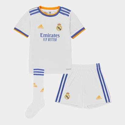 adidas Real Madrid Home Mini Kit 2021 2022