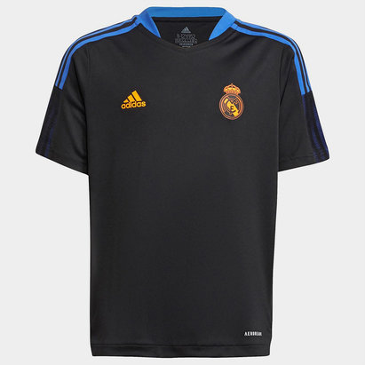 adidas Real Madrid Training Shirt 2021 2022