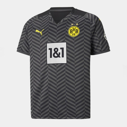 Puma Borussia Dortmund Away Shirt 2021 2022 Junior
