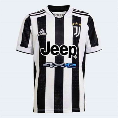 adidas Juventus Home Shirt 2021 2022 Junior