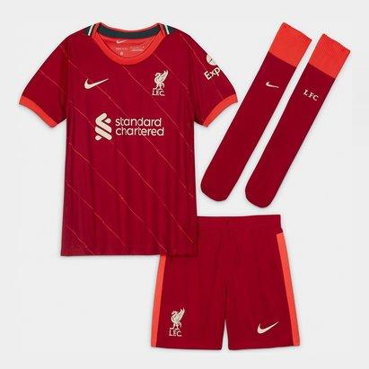 Nike Liverpool Home Mini Kit 2021 2022