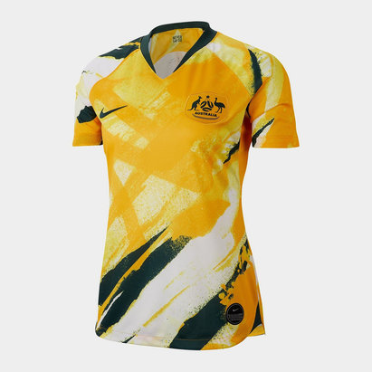 Nike Australia Home Jersey 2020 21 Ladies