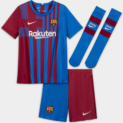 Nike Barcelona Home Mini Kit 2021 2022