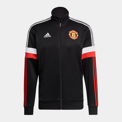 adidas Manchester United Track Jacket 2021 2022 Mens
