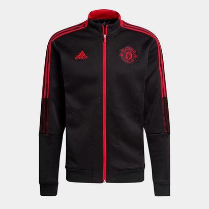 adidas Manchester United Anthem Jacket 2021 2022 Mens