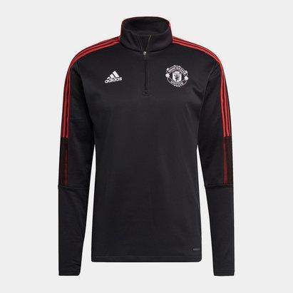 adidas Manchester United Warm Training Top 2021 2022 Mens