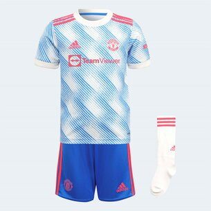 adidas Manchester United Away Mini Kit 2021 2022