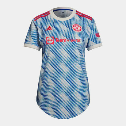 adidas Manchester United Away Shirt 2021 2022 Ladies