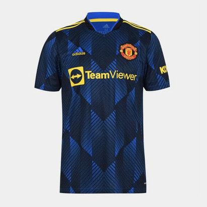 adidas Manchester United Third Shirt 2021 2022 Junior