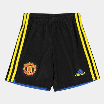adidas Manchester United Third Shorts 2021 2022 Junior
