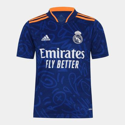 adidas Real Madrid Away Shirt 2021 2022 Juniors