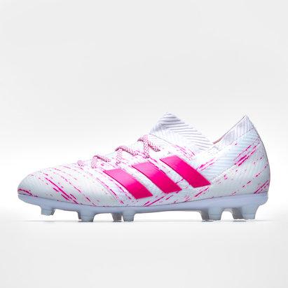 acb16822985f adidas Nemeziz 18.1 FG Kids Football Boots