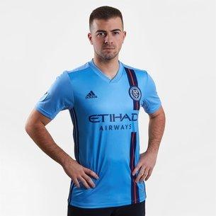 adidas New York Short Sleeve T Shirt Mens