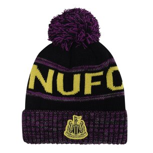 NUFC Newcastle United Third Crest Bobble Hat
