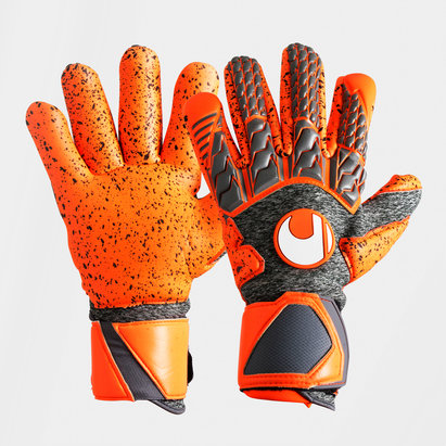 Uhlsport AeroRed Supergrip Finger Surround Goalkeeper Gloves