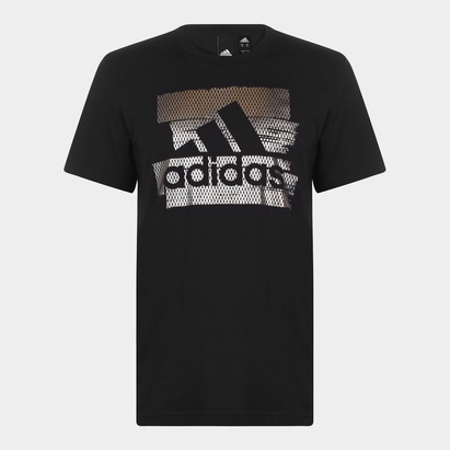 adidas Badge Of Sport Foil Print Leisure T-Shirt