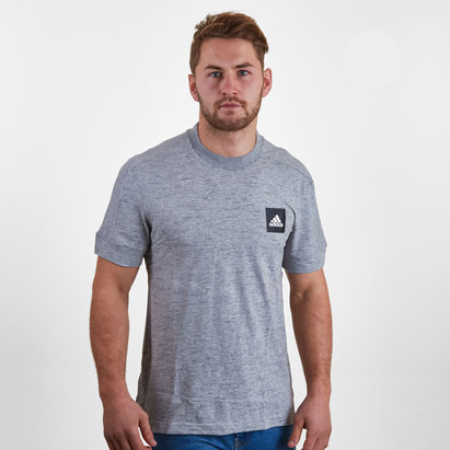 adidas ID Fat Short Sleeve T Shirt Mens