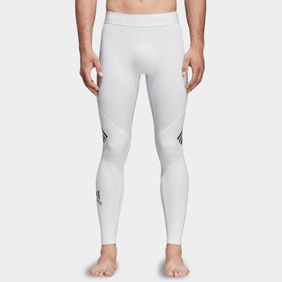adidas Alpha Skin 3 Stripe Mens Long Tights