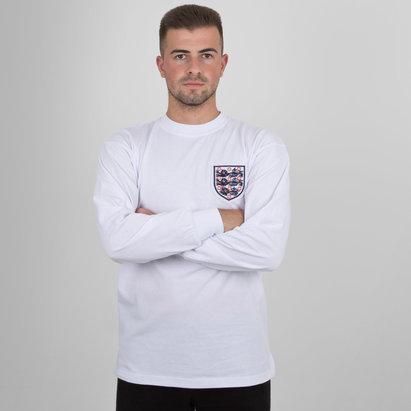 42a1e0ed9d0 Score Draw England 1966 Home World Cup Finals No 6 Retro Football Shirt