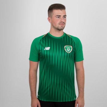 New Balance Republic of Ireland 18/19 Match Day Football Training Shirt