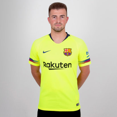 Nike FC Barcelona 18/19 Away S/S Stadium Football Shirt