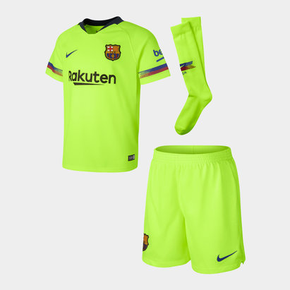 Nike FC Barcelona 18/19 Infants Away Football Kit