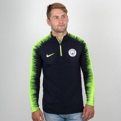 Nike Manchester City 18/19 Vapor Knit Strike Drill Football Top