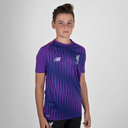 New Balance Liverpool FC 18/19 Elite Kids Matchday Football Training Shirt