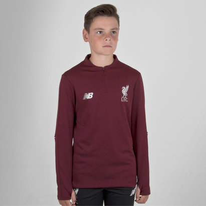 New Balance Liverpool FC 18/19 Kids Mid Layer Football Top