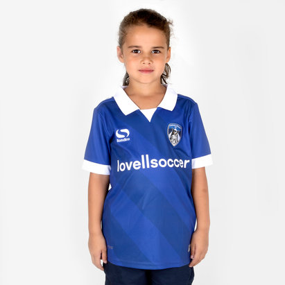 SportsDirect Oldham Athletic 18/19 Home Kids Football Shirt