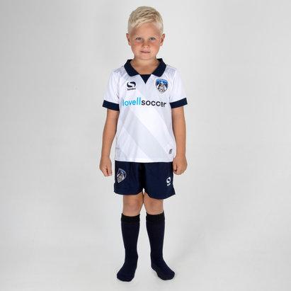 Sondico Oldham Athletic 18/19 Away Kids Mini Football Kit