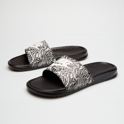 Nike Benassi Just Do It Print Slide Flip Flop