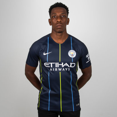 Nike Manchester City 18/19 Away S/S Replica Football Shirt