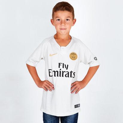38adcc382dc Nike Paris Saint-Germain 18 19 Away Kids S S Replica Football Shirt