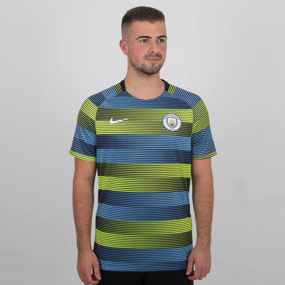 Nike Manchester City 18/19 Dri Fit Squad Football Training Top