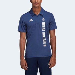adidas Great Britain Team Polo Shirt Mens