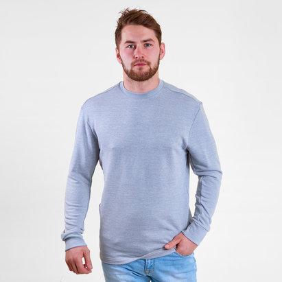3efe8437 Reebok French Terry Marble Melange Crew Sweatshirt