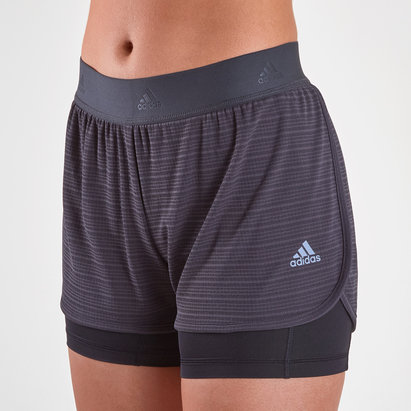 adidas 2 in 1 Climachill Shorts Ladies